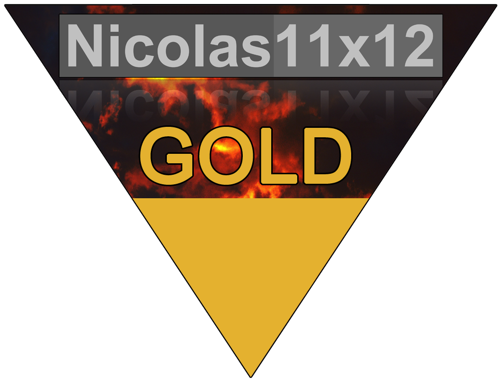 "03/2017 | Nicolas11x12 ""Gold Award"""